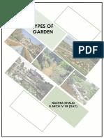 Types of Garden