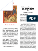 DEMONOLOGÍA López Martínez Nicolás - El demonio - Ed BAC Madrid 1982 v007b +++++ +++