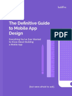 The Definitive Guide to Mobile App Design