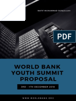 Proposal Youth Summit WBG 2018