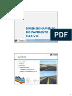 Dimensionamento Pavimento Flexível - Parte 2 - Estudos de Tráfego - Revisão 052013