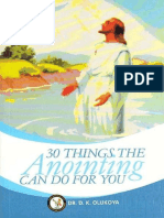 30 Things Anointing Can Do for - D. K. Olukoya-1