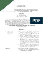 Lucknow Regulation 2009