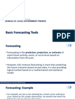 DAMA 04 Basic Forecasting