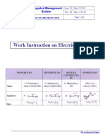 19. Work Instructions on Electrical Safety