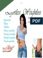 Effortless Weightloss E-book