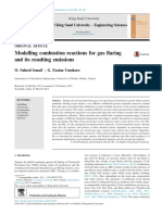 Combustion Reaction Flaring