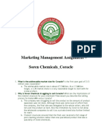 Marketing 3_ Group 3_ Soren Chemicals_Case Analysis