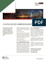 A Nova Lei Do Arrendamento Urbano