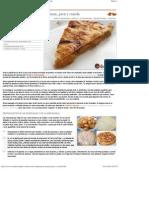 Receta de Empanada de Manzana, Pera y Canela - Recetas de Rechupete