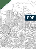 Coloriage Jardin