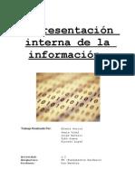 Representación interna de la información