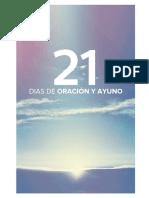 21 Dias de Oración y Ayuno