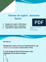 regulatoare PID - Prezentare