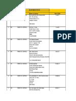 New Omaxe Nile List