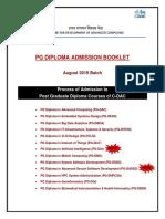 Admission Booklet