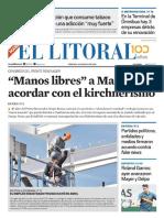 El Litoral Mañana 31/05/2019