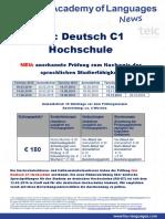 Telc C1 Hochschule