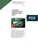 Combustíveis Automotivos_ Etanol Hidratado e Etanol Anidro