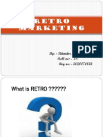 Retro Marketing