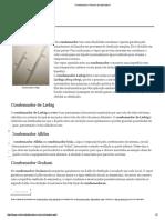 Condensador _ Vidraria de Laboratório