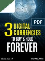 3 digital curriencies
