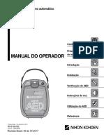 AED-3100 - Manual de Usuário