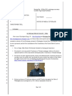 Seattle Volkswagen/Homeless Rape Trial Notice of Independent Media Coverage