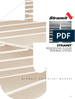 Residential Floor Framing System Product Technical Manual