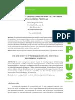 USO E BENEFÍCIOS DAS METODOLOGIAS ATIVAS EM UMA DISCIPLINA DE ENGENHARIA DE PRODUÇÃO