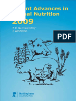 Recent Advances in Animal Nutrition 2009