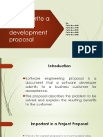 How to Write a Software Development Proposal