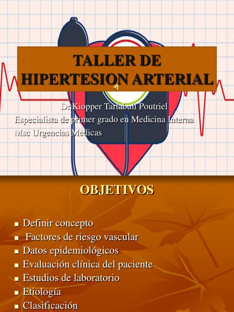 Hipertensión arterial powerpoint para pacientes esquizofrenicos