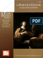 Frank Koonce the Baroque Guitar in Spain and Th