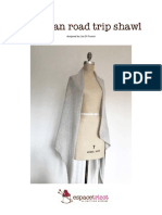 European Road Trip Shawl En