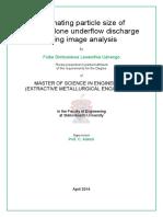 Uahengo Estimating 2014