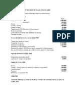 Aplicatia 2 Întocmire Situaţii Financiare