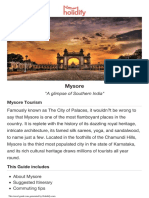 Mysore travel guide
