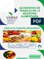 Accidentes de Trabajo en La Industria Alimentaria