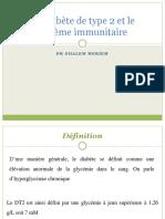 Le diabète de type 2 et le système immunitaire