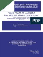 Lucio Mora Guia Practica Para El Armado de Una Precisa Matriz de Riesgos