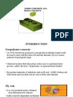 Green Concrete