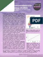 2. Enzyme-linked Immunosorbent Assay (ELISA) (Ensayo de Inmunoabsorción Ligado a Enzima (ELISA))