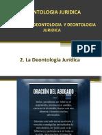Modulo III_2 La Deontologia Juridica