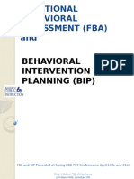 functional behavioral assessment and behavioral intervention planning