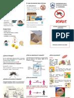 Triptico Dengue