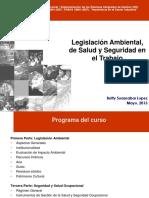 Presentación legislacion ambiental - betty suasnabar