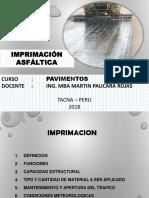 Unidad 2 Semana 5 y 6 Imprimacion y Tratamiento Superficial