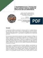 Adaptación y Transferencia de La Tecnología Sma