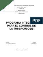 Trabajo Programa Ampliado Tuberculosis en Venezuela